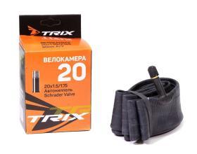 Камера 20 TRIX 20*1,5/1,75 автониппель AV, бутил