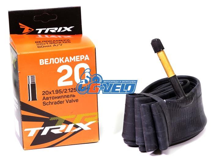 Камера 20 TRIX 20*1,95/2,125 автониппель AV 60мм, бутил