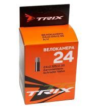 Камера 24 TRIX 24*2,125/2,35 автониппель AV, бутил