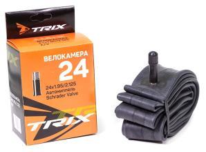 Камера 24 TRIX 24*1,95/2,125 автониппель AV, бутил