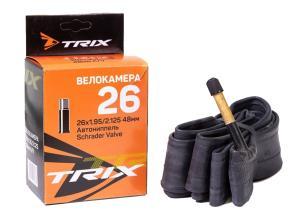 Камера 26 TRIX 26*1,95/2,125 автониппель AV 60мм, бутил