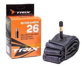 Камера 26 TRIX 26*1,95/2,125 автониппель AV, бутил