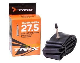 Камера 27,5 TRIX 27,5*1,95/2,125 велониппель 48 мм FV, бутил