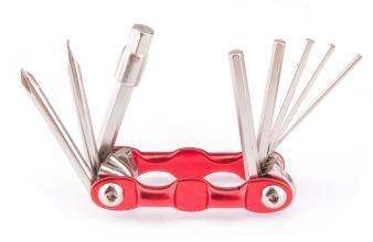 Ключи шестигранные KENLI, многофункциональные, 9шт, KL-9833B