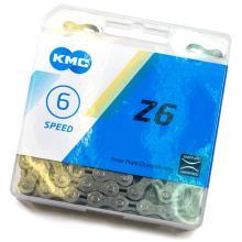 Цепь KMC Z-6, 6-ск. 116 звеньев, Gray/Gray (Z-33), с замком