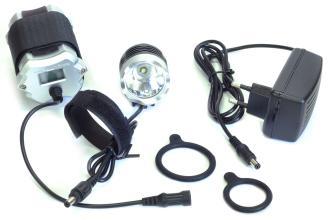 JING YI, Фара велосипедная JY-8010-1, 1000 lum, зарядное устройство