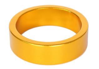 Проставочное кольцо 10 мм MD-AT-01 Alloy 6061, золотое, анодированное