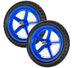 Колеса для беговела (пара) синие