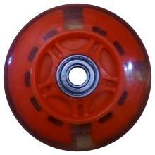 Колесо для самокатов, 75 мм, Vinca Sport, ABEC 7, светящееся, цвет: в ассортименте, SC 03