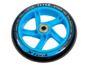Колесо для самокатов, 145 мм, подшипники ABEC 7, цвет: синий
