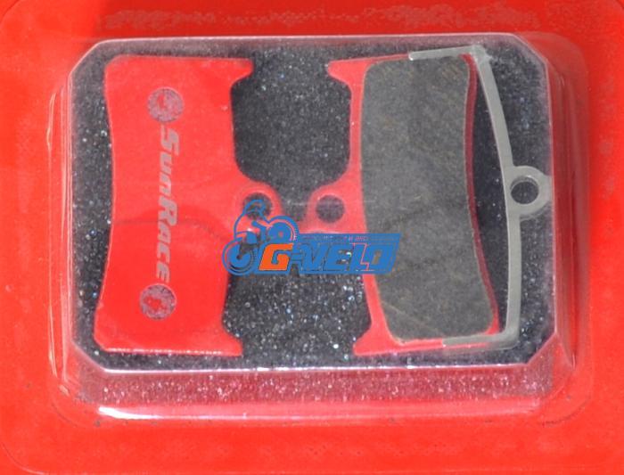 Колодки диск SunRace для Shimano XT BR-M755 с пружинкой