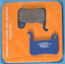 Колодки диск UNEX Semi-Metallic для Shimano XTR/SAINT/SLX/DEORE XT 2004/HONE/LX/ALFINE с пружиной