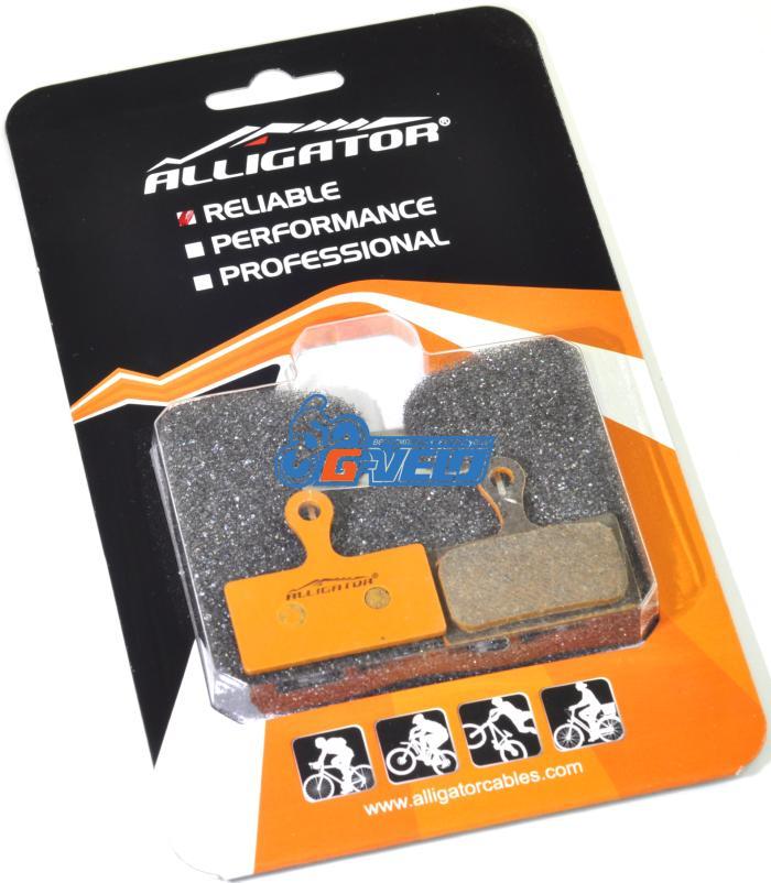 Колодки диск Alligator Organic для SHIMANO/XTR/DEORE XT/SLX/ALFINE с пружиной
