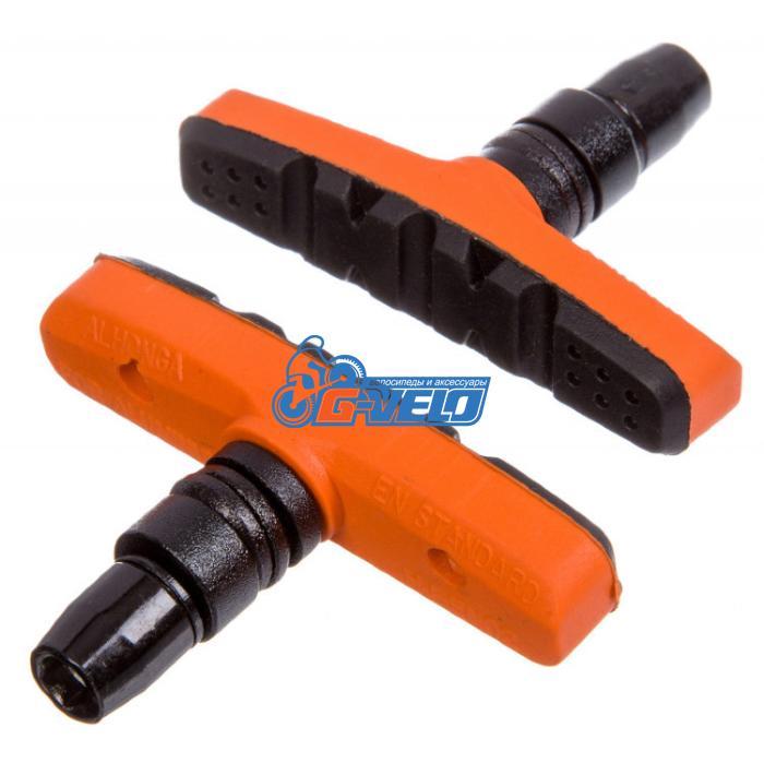 Колодки V-brake STG EN-02 60 мм, orange