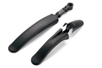"""Комплект крыльев MTB GT4140, 20-24"""", пластик, черные"""