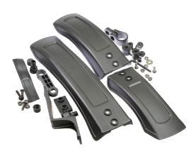 Комплект крыльев TRIX 24-27 plus, пластик, ширина 85 мм, черные, SF-272 F/RL