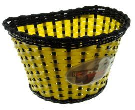 """Корзина детская 12"""" (желто-черная) 235x165x156 мм, BS02-2B (12"""")"""