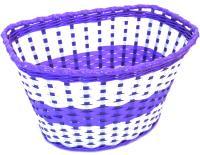 """Корзина детская 16"""" фиолетово-белая 240*165*155мм"""