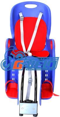 Кресло детское на багажник BG-6 синее