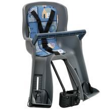 Кресло детское передн, до 15 кг, синий/серый YC-699