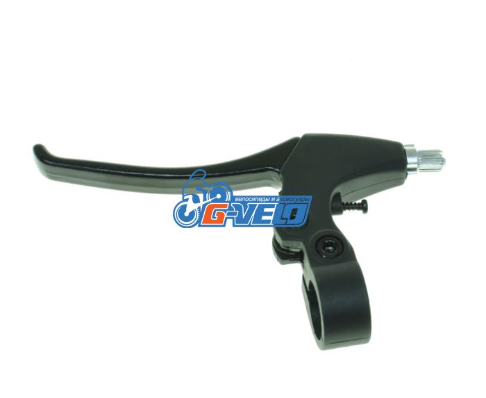 Рукоятка тормоза левая, WINZIP WL-348C алюминий/пластик