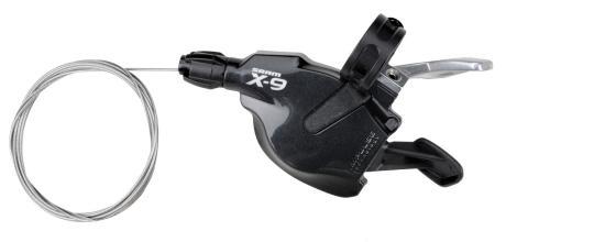 Манетка SRAM X-9 3ск черный