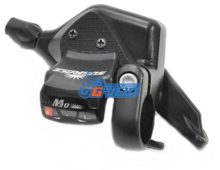 Манетка SunRace DL-M33 8ск черный