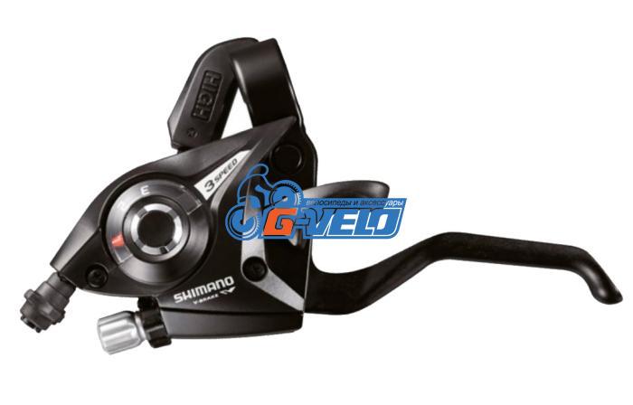 Манетка Shimano ST-EF51 3ск черный