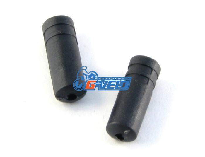Наконечник оплетки переключения Vinca Sport D=4,3х12мм, пластиковый, VSE 2