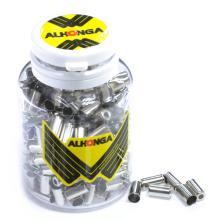Наконечник оплетки троса тормоза Alhonga 5 мм, латунь HJ-D90