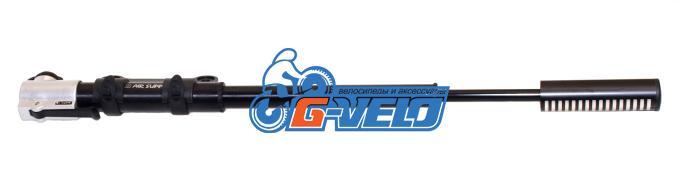 Велонасос GIYO GM-26 алюминиевый высокого давления с фиксатором 8,5 bar