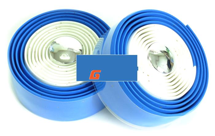 Обмотка руля VELO VLT-001-23 синий с гелевой лентой