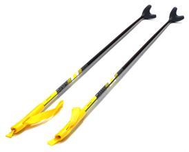 Палки лыжные TREK Universal 120-135 см, стеклопластик