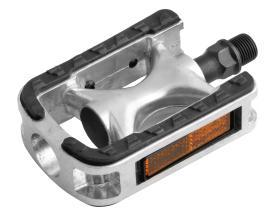 Педали WELLGO LU-975 MTB алюминиевые, прорезиненные, 103 х 71,5 х 31, вес: 464г