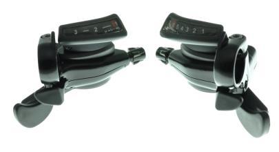 К-т манеток Microshift TS50-3, 3х7 скоростей