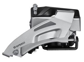 Передний переключатель Shimano ALTUS FD-M2020-TS ун. тяга, нижний хомут, 2 ск, 36Т