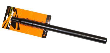 Подседельный штырь TRIX 28,6*400мм, стальной, черный, JB-8540 (28,6) black
