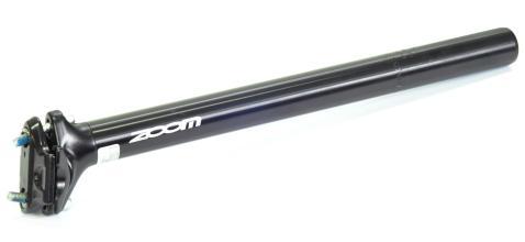 Подседельный штырь ZOOM SP-218, черный, 27,2*350мм