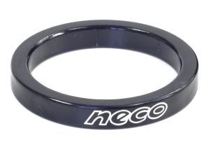 "Проставочное кольцо NECO 1 1/8"", 5 мм, черное, AS 3505 BK"