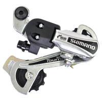 Задний переключатель Shimano Tourney RD-TY21-B GS под болт, серебро
