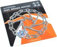 Ротор Alligator ARIES для дискового тормоза 160мм серебро