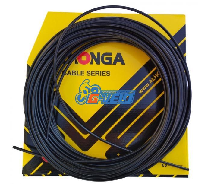 Рубашка троса переключения Alhonga SP CC-BK01 4 мм, черная, 1 метр