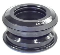 """Рулевая колонка NECO 1-1/8"""" полуинтегрированная H148 BK полукартр., высота 9,9мм"""