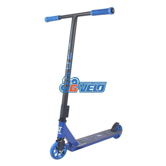 Самокат трюковый AT Scooters INOY синий