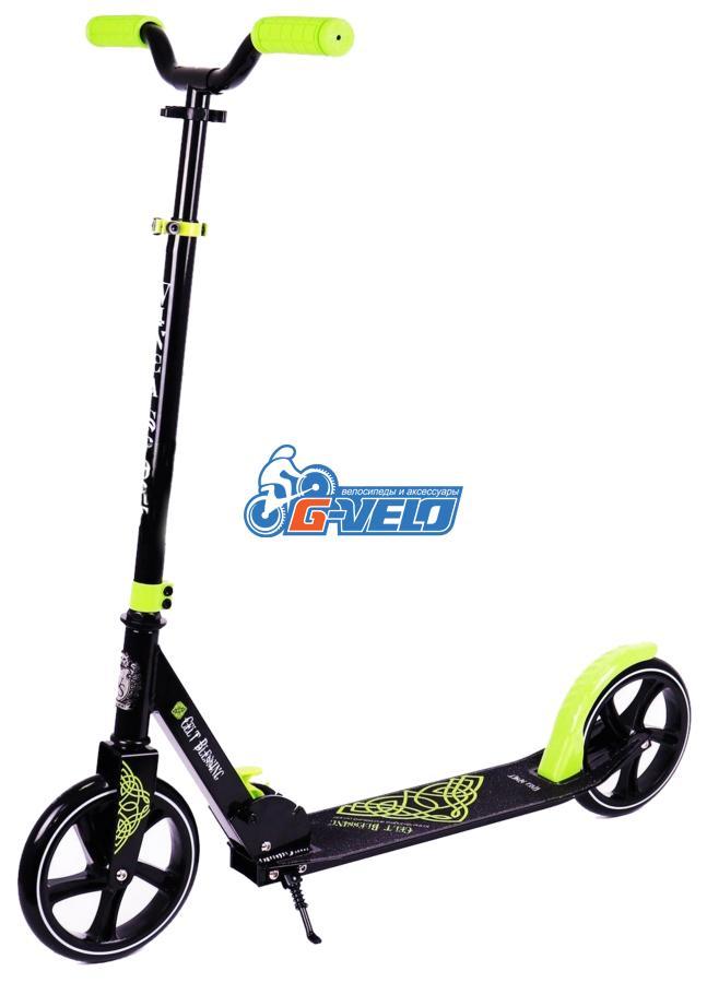 Самокат Vinca Sport, колеса 200мм, алюм/сталь, ABEC 9, VSP 10-1 Celt