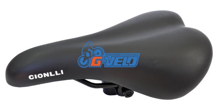 Седло Cionlli BMX 6142, 265мм, 165мм, черный