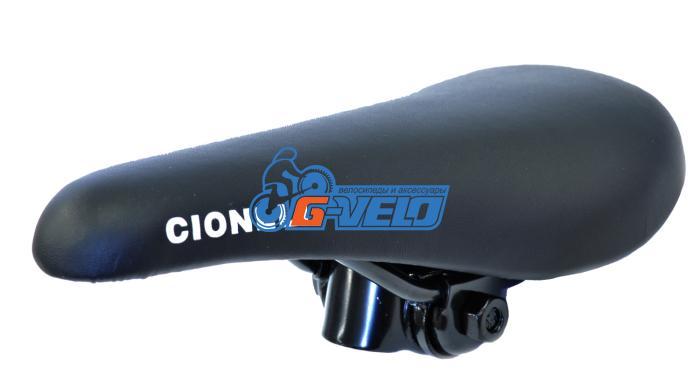 Седло Cionlli BMX 9103, черный, стальные рейлы