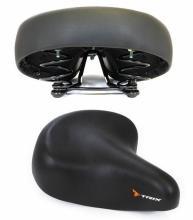 Седло TRIX комфорт 250x215 мм, пружинное, черное, 12190