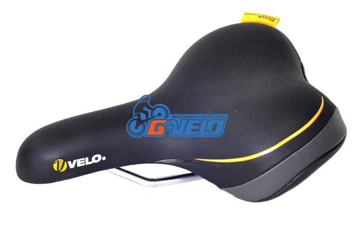 Седло Velo VL-6090 COMFORT/CITY SERIES 450гр. 261*188мм, без крепления