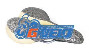 Седло Velo VL-6219 COMFORT SERIES 505гр. 272*210мм с ручкой